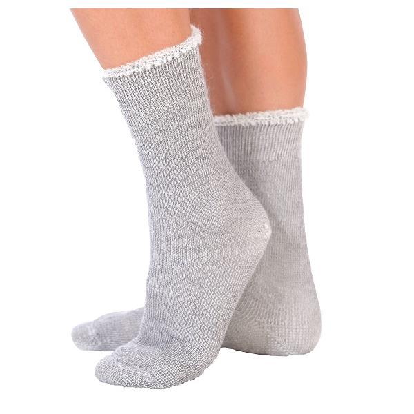 L'Angélaine - No Elastic Kidmohair Socks