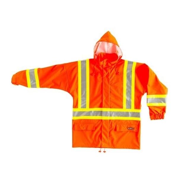 10/4 Job - Manteau imperméable à bandes reflechissantes 87-R-310-1-REF