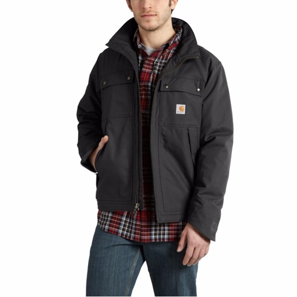 Carhartt - Men's Quick Duck Jefferson Traditional Jacket