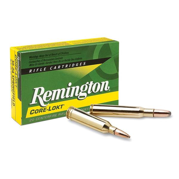 Remington - Balles Express Core-Lokt Pointed Soft Point .338 WIN MAG 225gr
