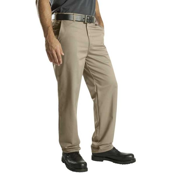 Dickies - Pantalon en coton à devant plat WP314 pour homme