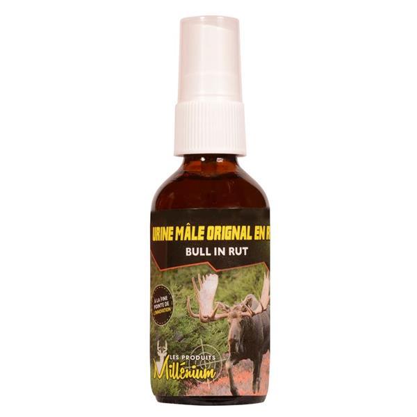 Les Produits Millénium - Urine d'orignal mâle de 60 ml