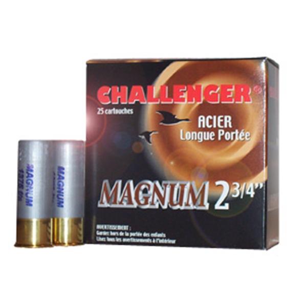 Challenger - Cartouches Steel Magnum