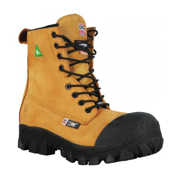Big Bill - Men's BB6014 Traction 4x4 Metal Free Safety Boots