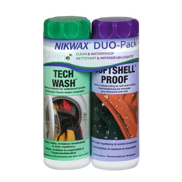 Nikwax - Ensemble de produits d'entretien Duo-Pack Softshell