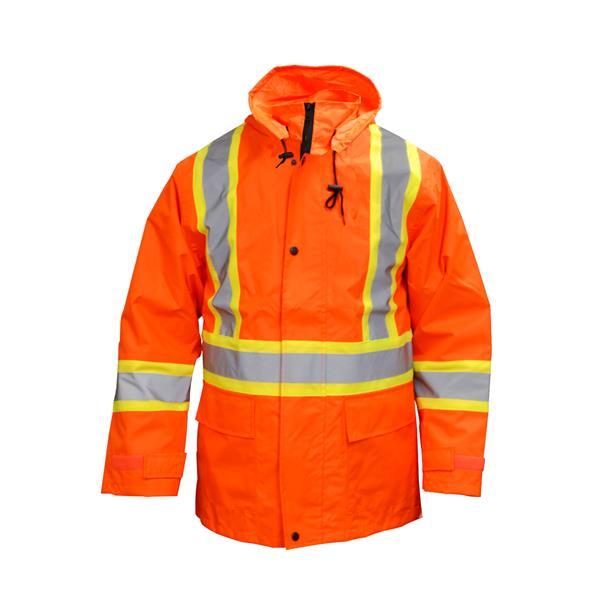 Dynamic Safety - Manteau de pluie à bandes réfléchissantes