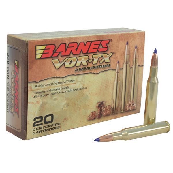 Barnes - Balles VOR-TX .270 WIN 130gr