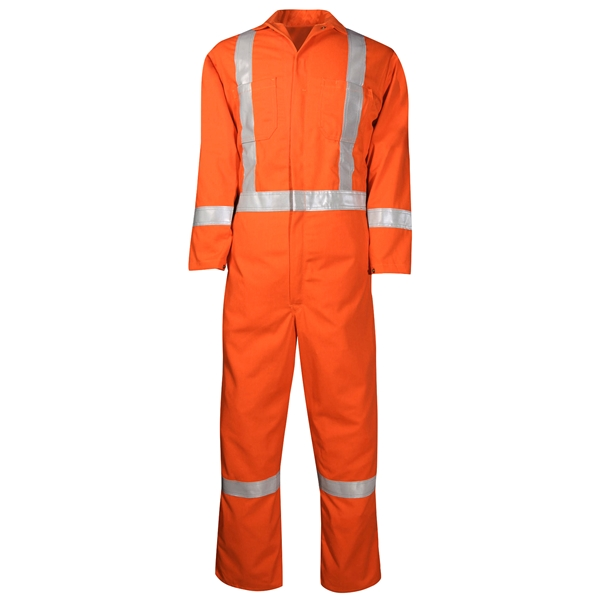 408US7 Coverall Unlined with Reflective Material