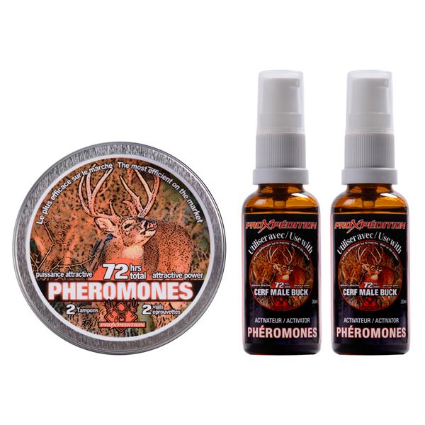 ProXpédition - Ensemble de phéromones et activateur pour chevreuil mâle