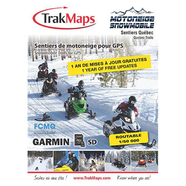 Trak Maps - Snowmobile Quebec GPS Map