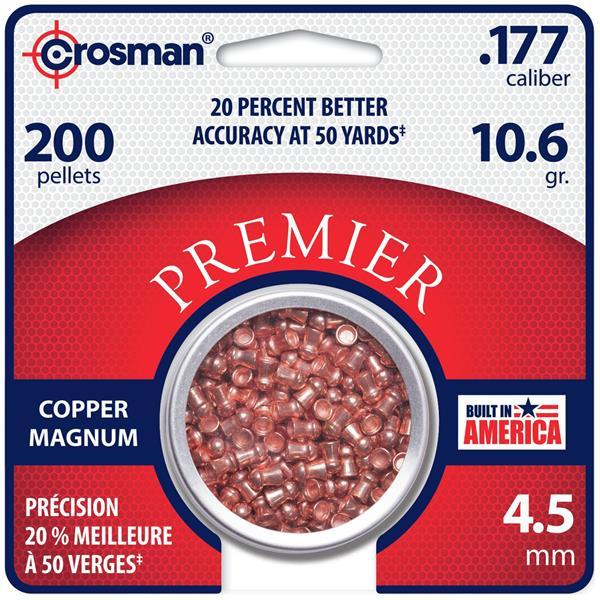 Crosman - .177 Copper Magnum Domed Pellet