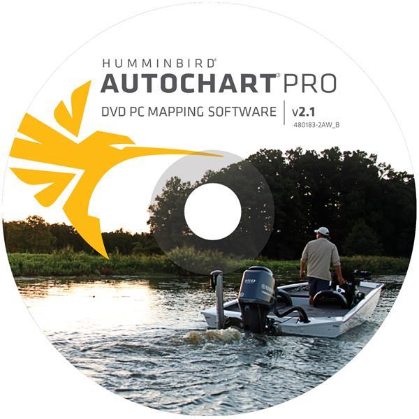 Humminbird - Logiciel Autochart Pro, PC Amérique du Nord 600032