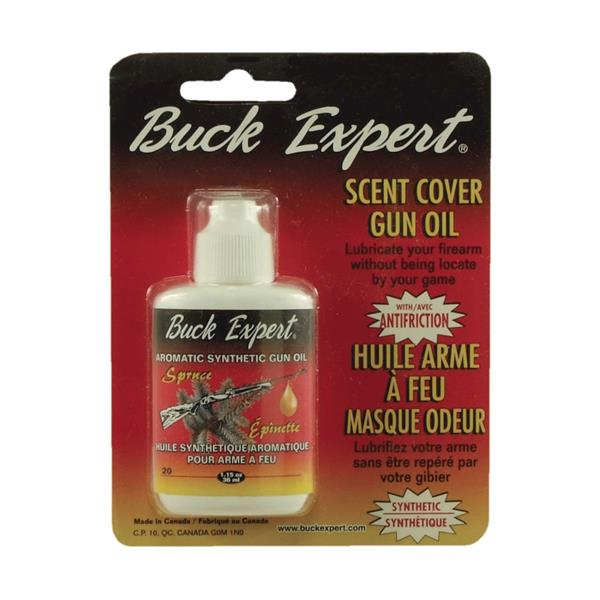 Buck Expert - Aromatic synthetic scent cover gun oil