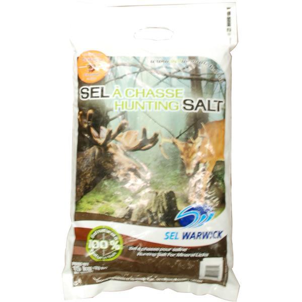 Sel Warwick - Sel de chasse à saveur de châtaigne de 15 kg