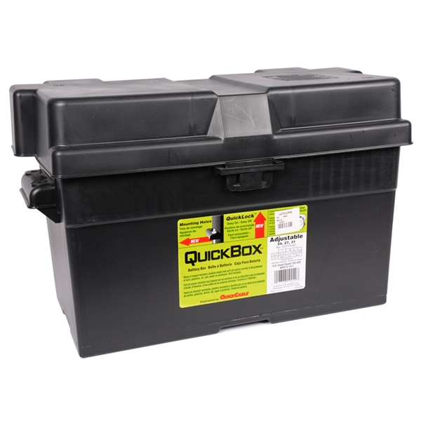 Quick Cable - 120173-001 Adjustable Battery Box