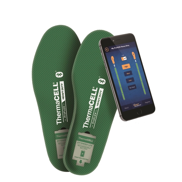 Thermacell - Semelles chauffantes ProFlex Heavy Duty Bluetooth