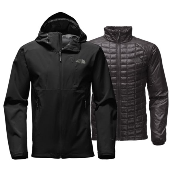 manteau thermoball triclimate pour homme the north face latulippe. Black Bedroom Furniture Sets. Home Design Ideas