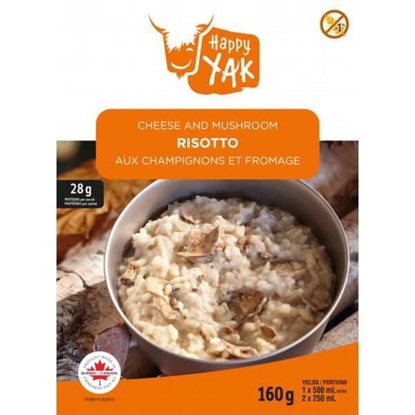 Happy Yak - Cheese and Mushroom Risotto