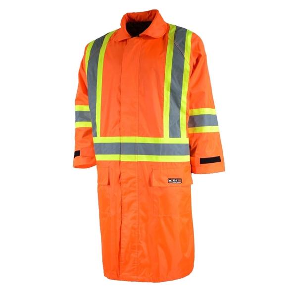 10/4 Job - Manteau long de pluie 87-WC-72-OR pour homme