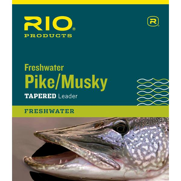 Rio Products - Pike/Musky II Freshwater Leader Knottable