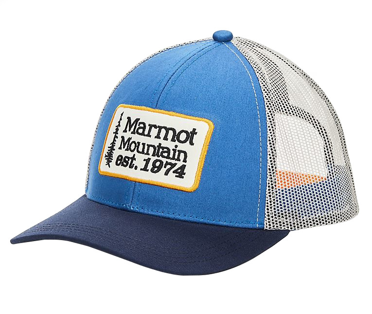 NEW MARMOT RETRO TRUCKER HAT LIGHT KHAKI  FREE SHIP CAP SNAP BACK