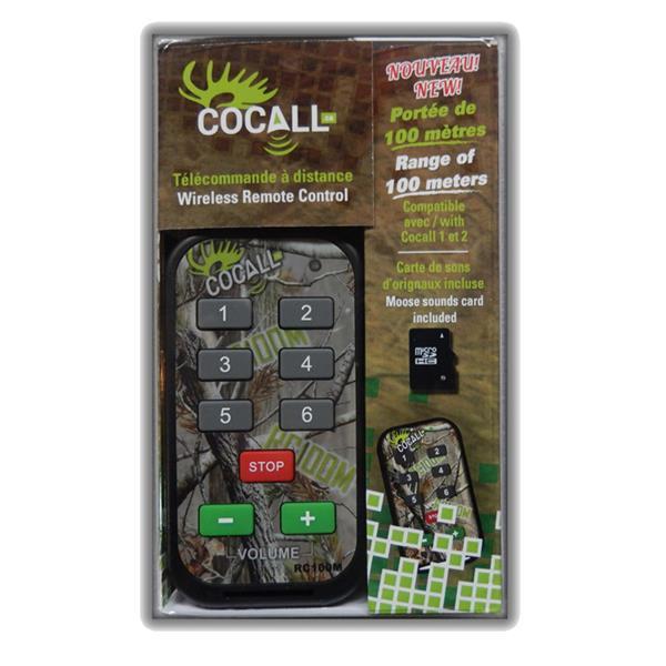 Cocall - Télécommande pour appeau électronqiue Cocall 1 et 2