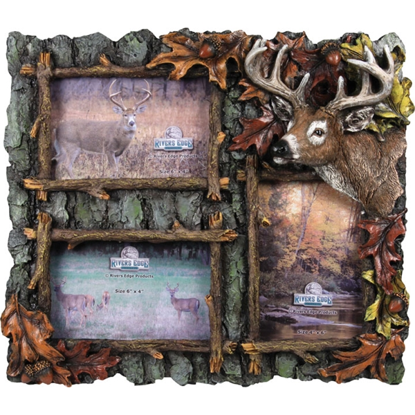 Rivers Edge Products - 3 Picture Deer Frame