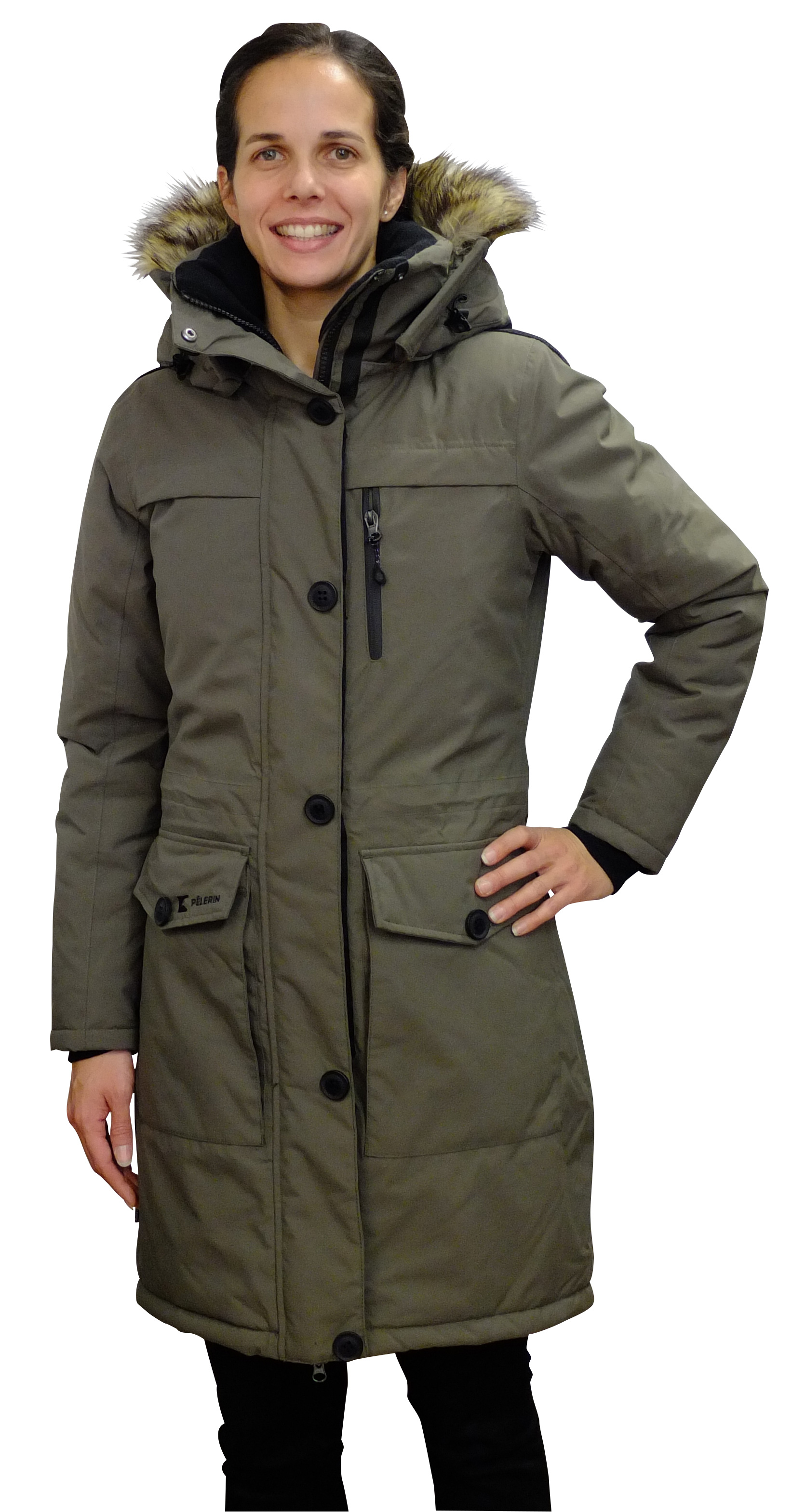Manteau femme grand froid