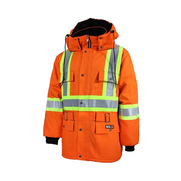10/4 Job - 89-15101-REF Work Coat with Reflective Stripes