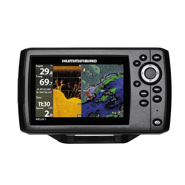 Humminbird - Helix 5 CHIRP DI GPS G2 Sonar