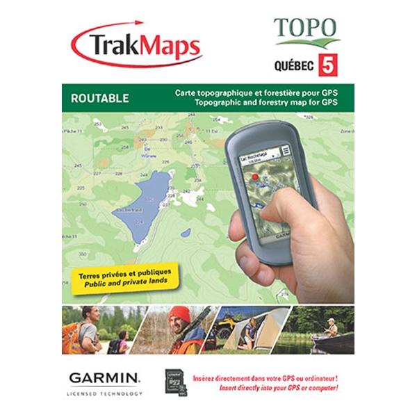 Quebec Topographic Map.Topo Quebec 5 Map For Garmin Gps Trak Maps Latulippe