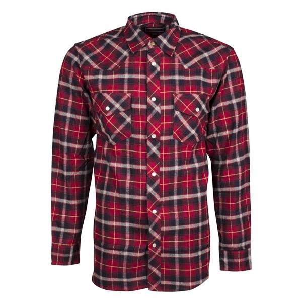 chemise en flanelle boutons pression pour homme. Black Bedroom Furniture Sets. Home Design Ideas
