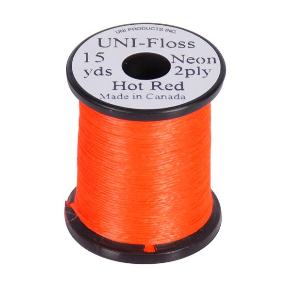 UNI-Products - UNI-Floss Neon 2-ply 15 yd
