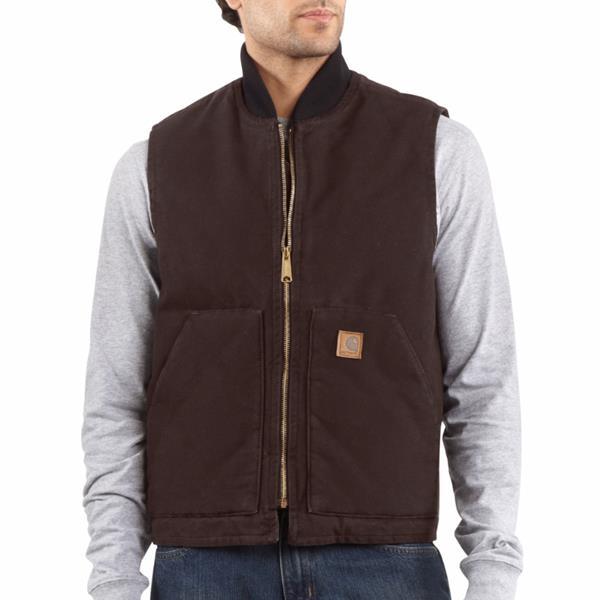 Carhartt - Men's Sandstone Vest