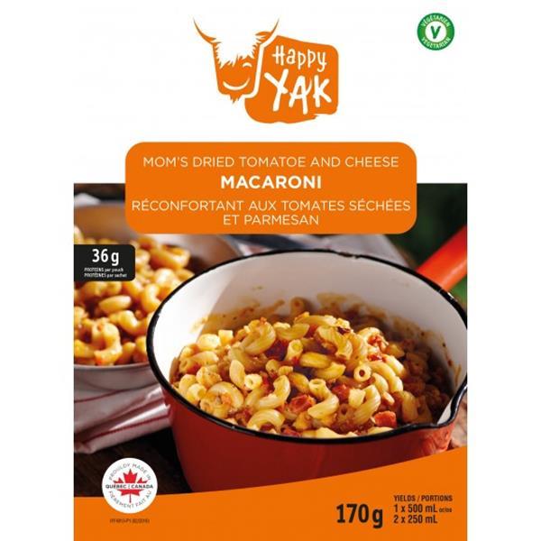 Happy Yak - Mom's Dried Tomatoe and Cheese Macaroni