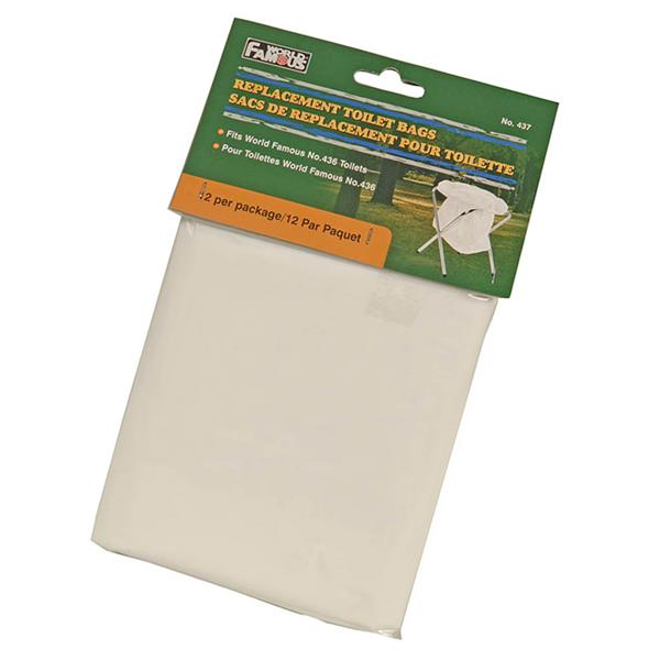 World Famous - Replacement Toilet Bags 437