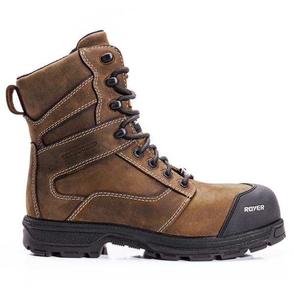 "ROYER - Men's 8"" 5727AG Winter Safety Boots"