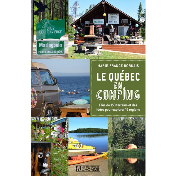 Éditions de l'Homme - Le Québec en camping