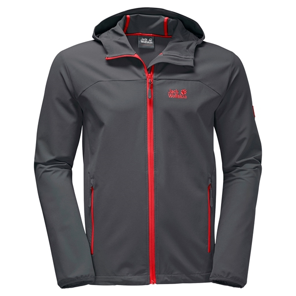 Jack Wolfskin - Coquille souple Turbulence pour homme