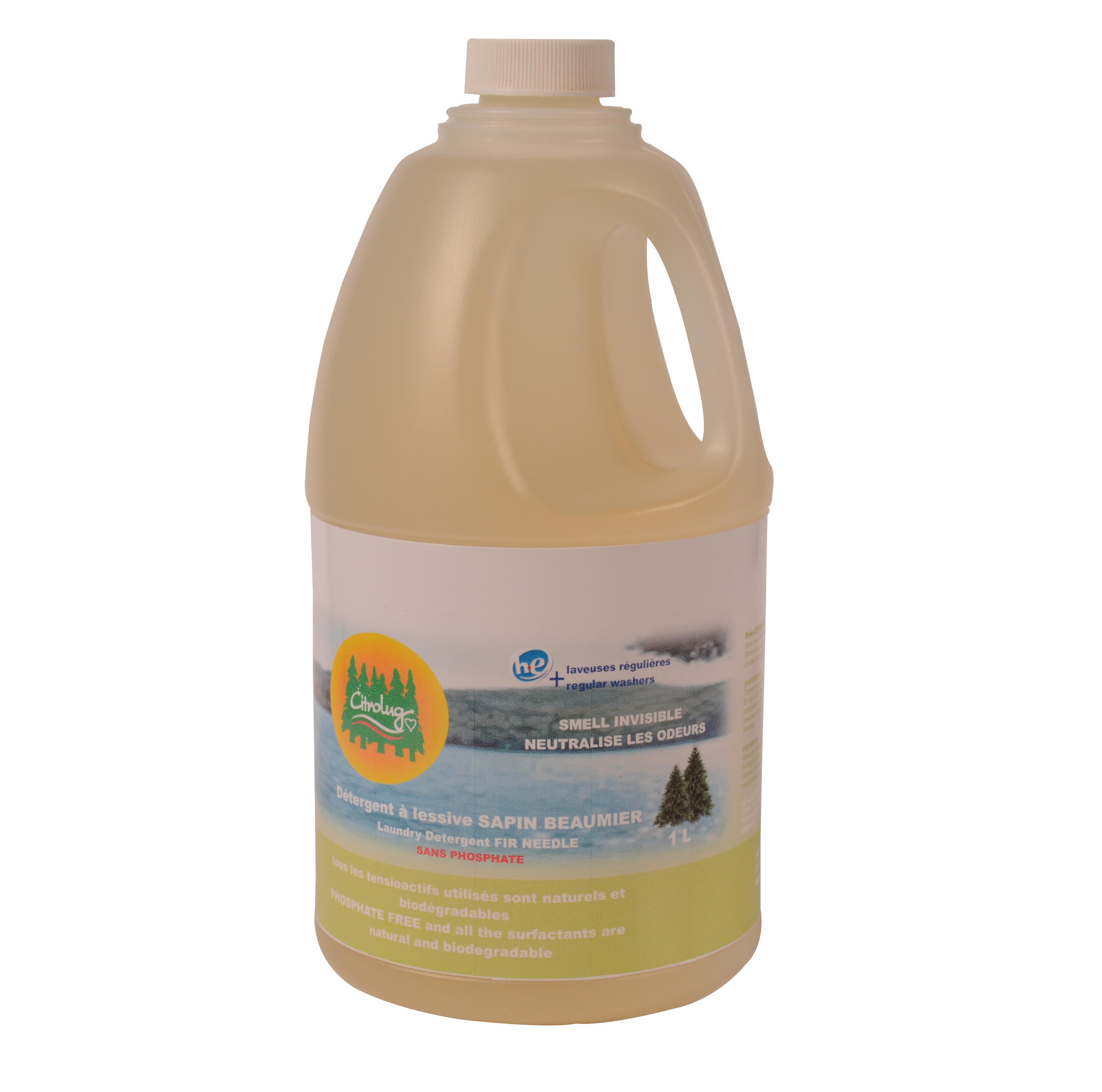 Savon Sans Odeur Pour La Chasse détergent à lessive odeur de sapin baumier - citrobug