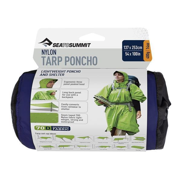 Sea to Summit - Poncho-Bâche en nylon