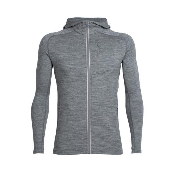 Icebreaker - Men's Quantum Long Sleeve Zip Hood