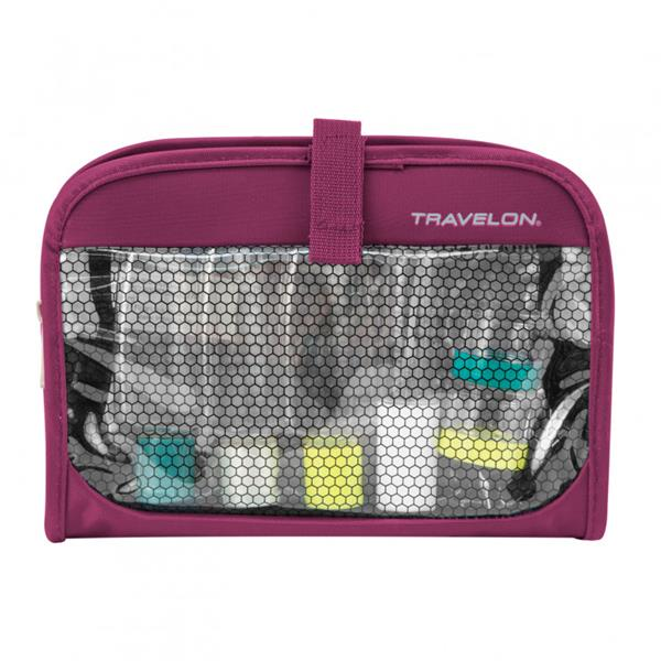 Travelon - Sac avec compartiment humide/sec et bouteilles de plastique
