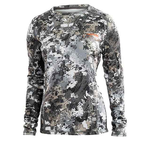 Sitka - Chandail Core Midweight Crew LS pour femme