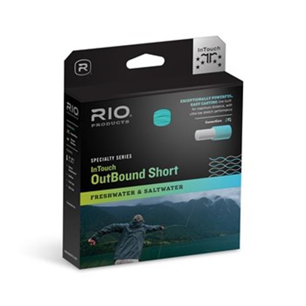 Rio Products - Soie à moucher Intouch Outbound Short