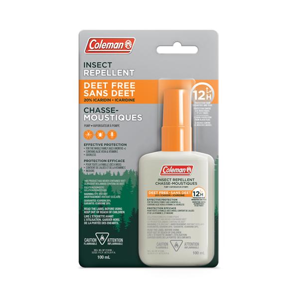 Coleman - 100 ml 20% ICARIDIN Liquid Insect Repellent