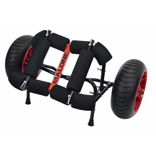 Malone Auto Racks - YakHauler All Terrain Heavy Duty Boat Cart with Bunks