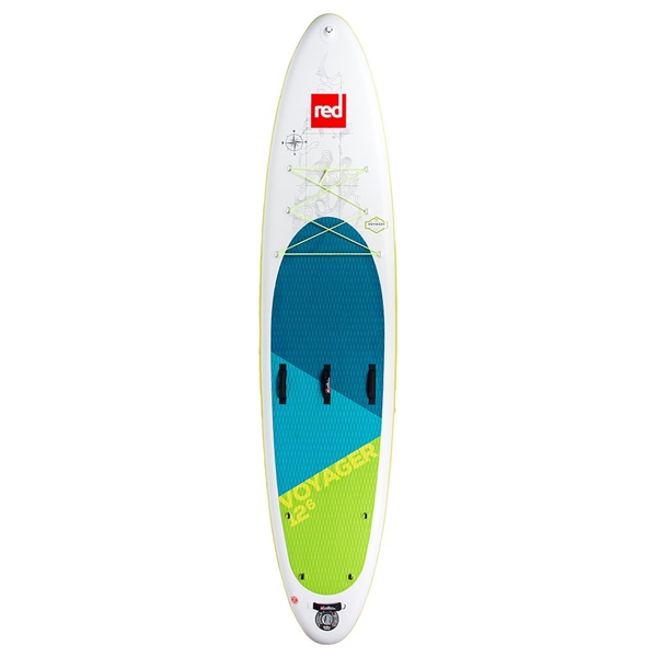 Red Paddle - Surf à pagaie 12'6 Voyager MSL