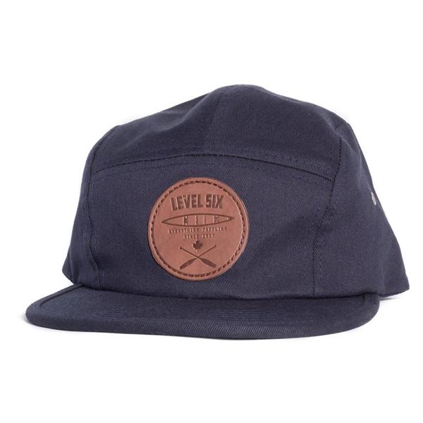Level Six - Men's Leather Patch Cap
