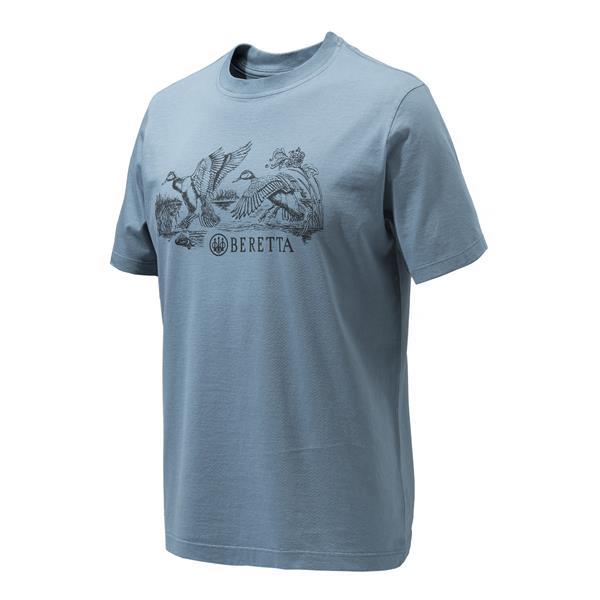 Beretta - T-shirt Engravers Ducks pour homme